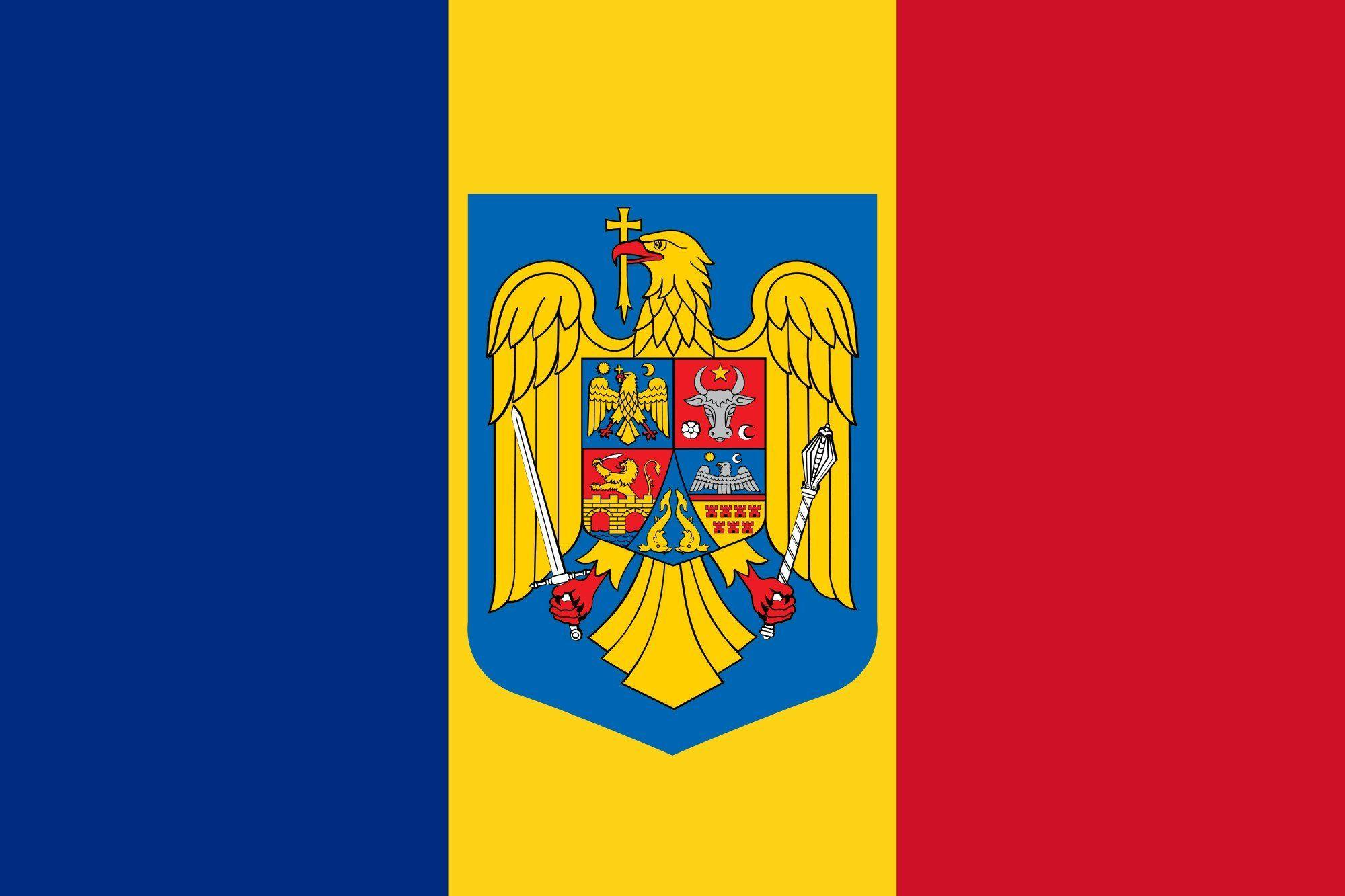 2000px-Flag of Romania coat of arms_svg wallpaper | 2000x1333 ...