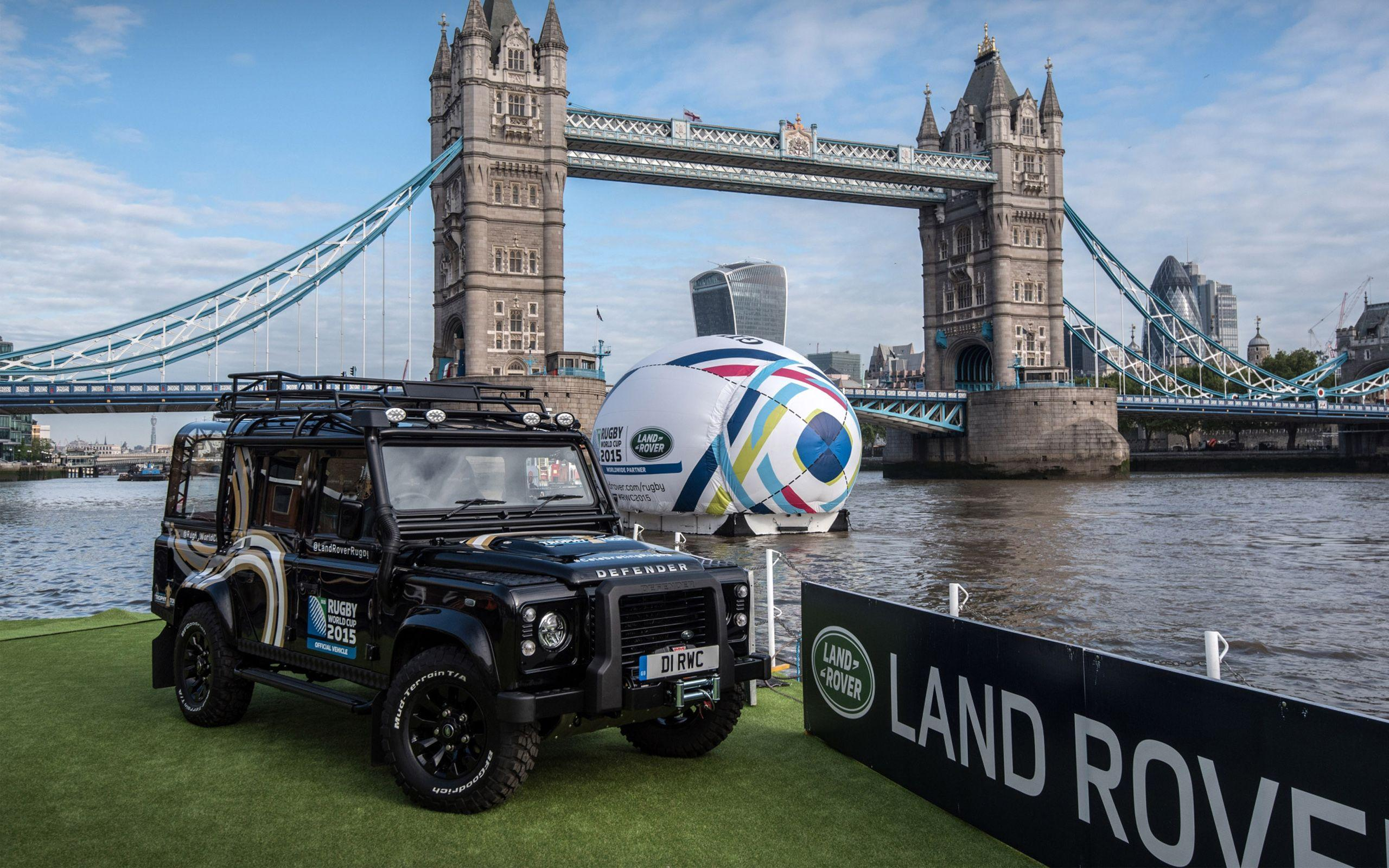 2015 Land Rover Rugby World Cup Defender Wallpapers