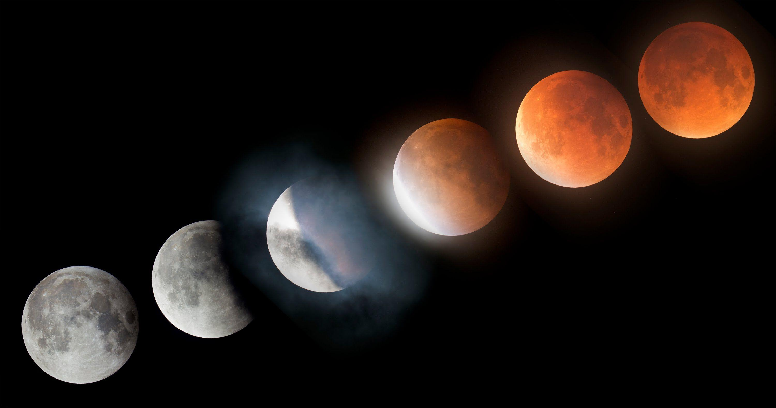 Super Blood Moon Lunar Eclipse Time-lapse 4K - YouTube