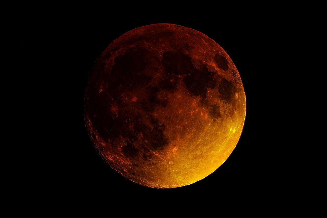 Stunning photos from last night's rare super blood moon | The Verge
