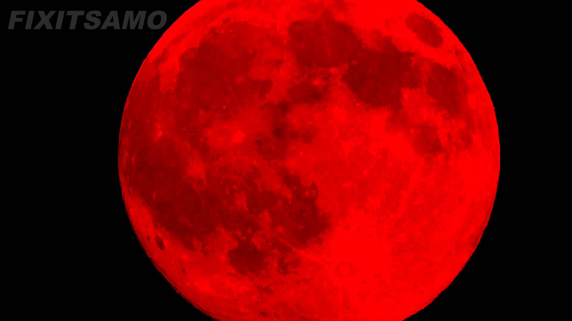 SEE THE REAL BLOOD MOON - YouTube
