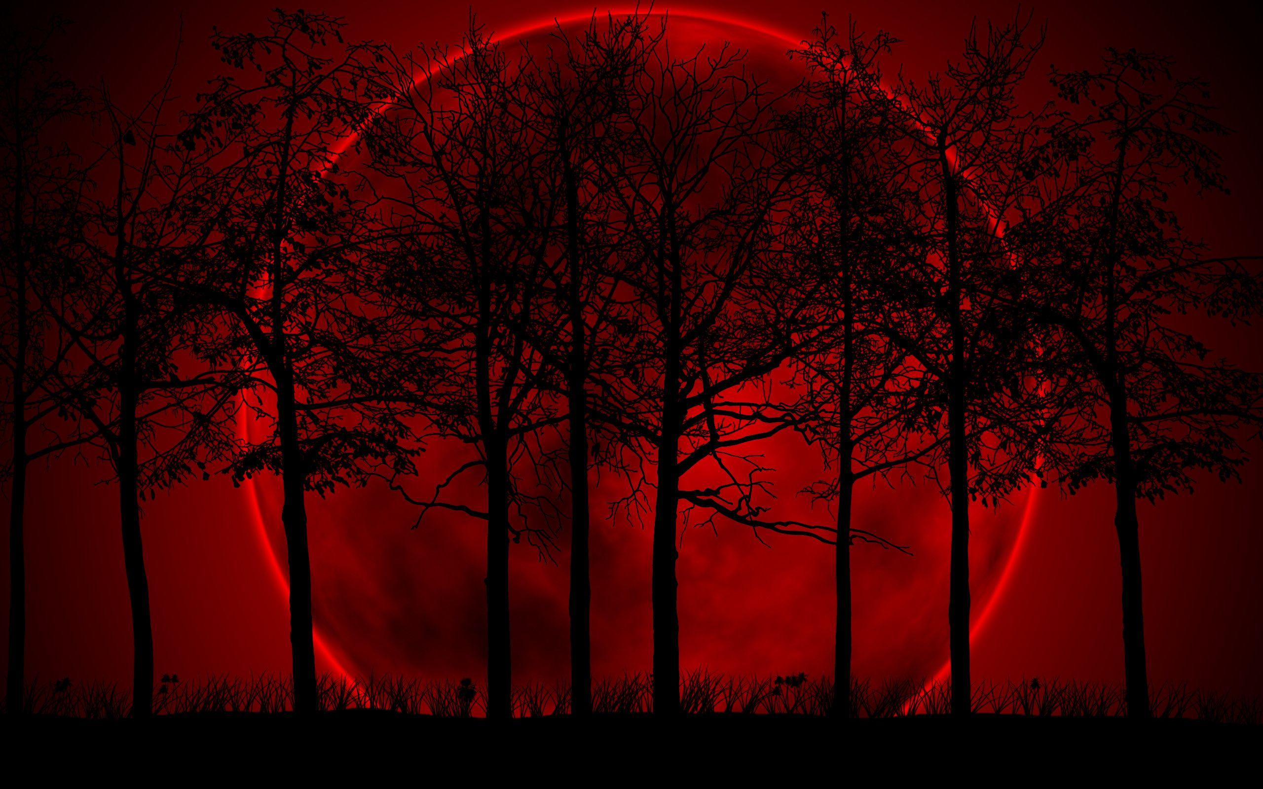 Blood Red Moon Wallpaper (55+ images)