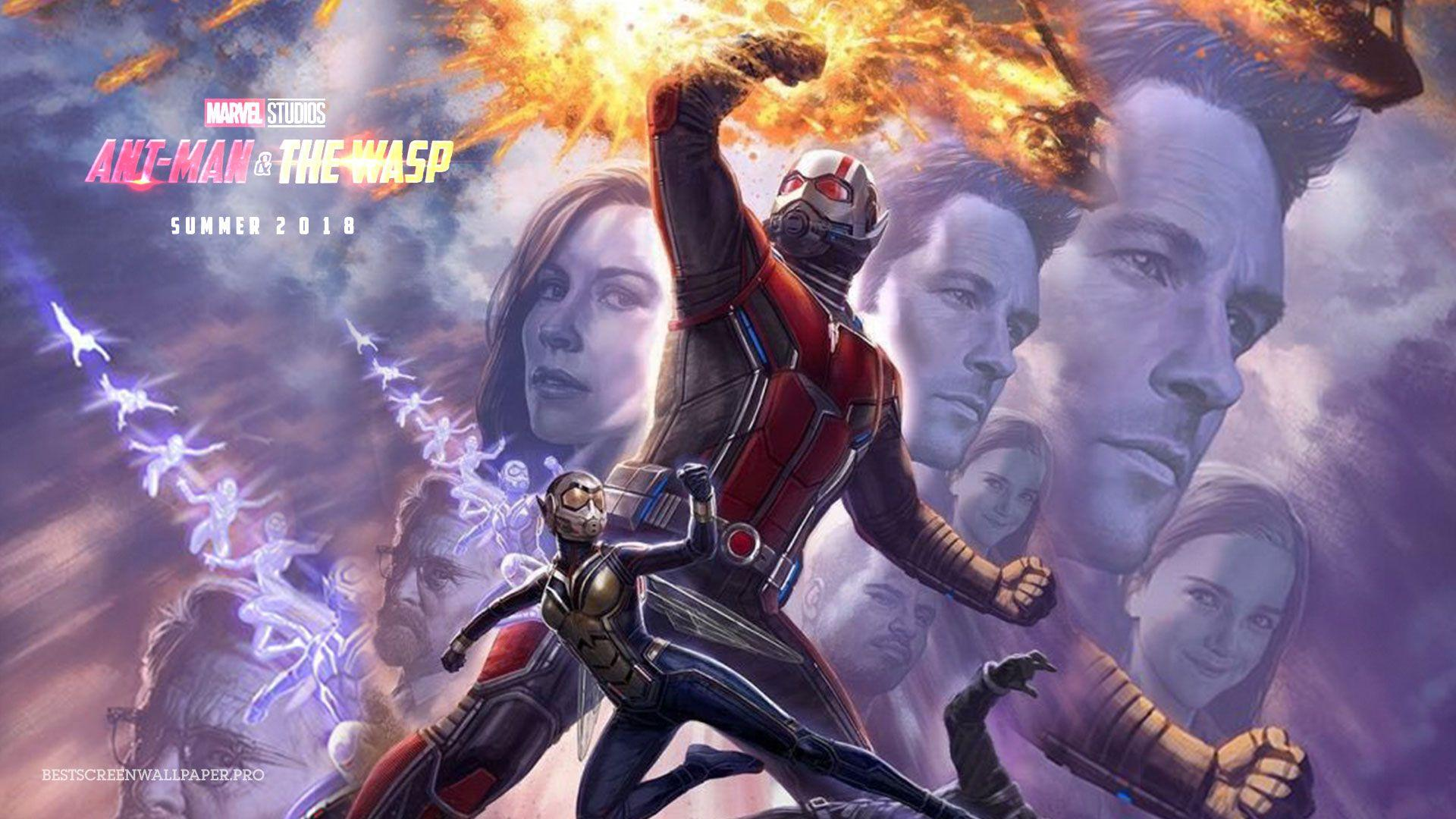 Ant Man And The Wasp Marvel Movie Wallpaper HD Film Release June