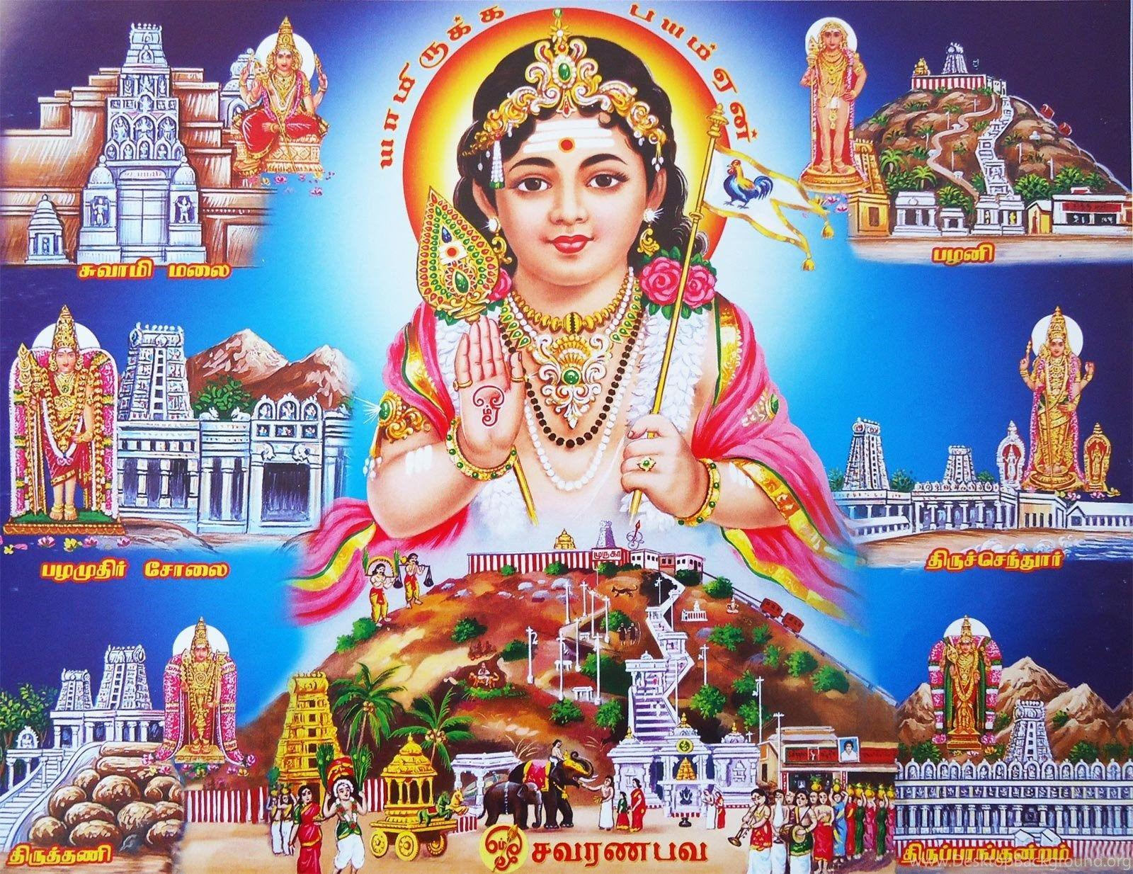 God Murugan Wallpapers HD Wallpapers And Pictures Desktop Background