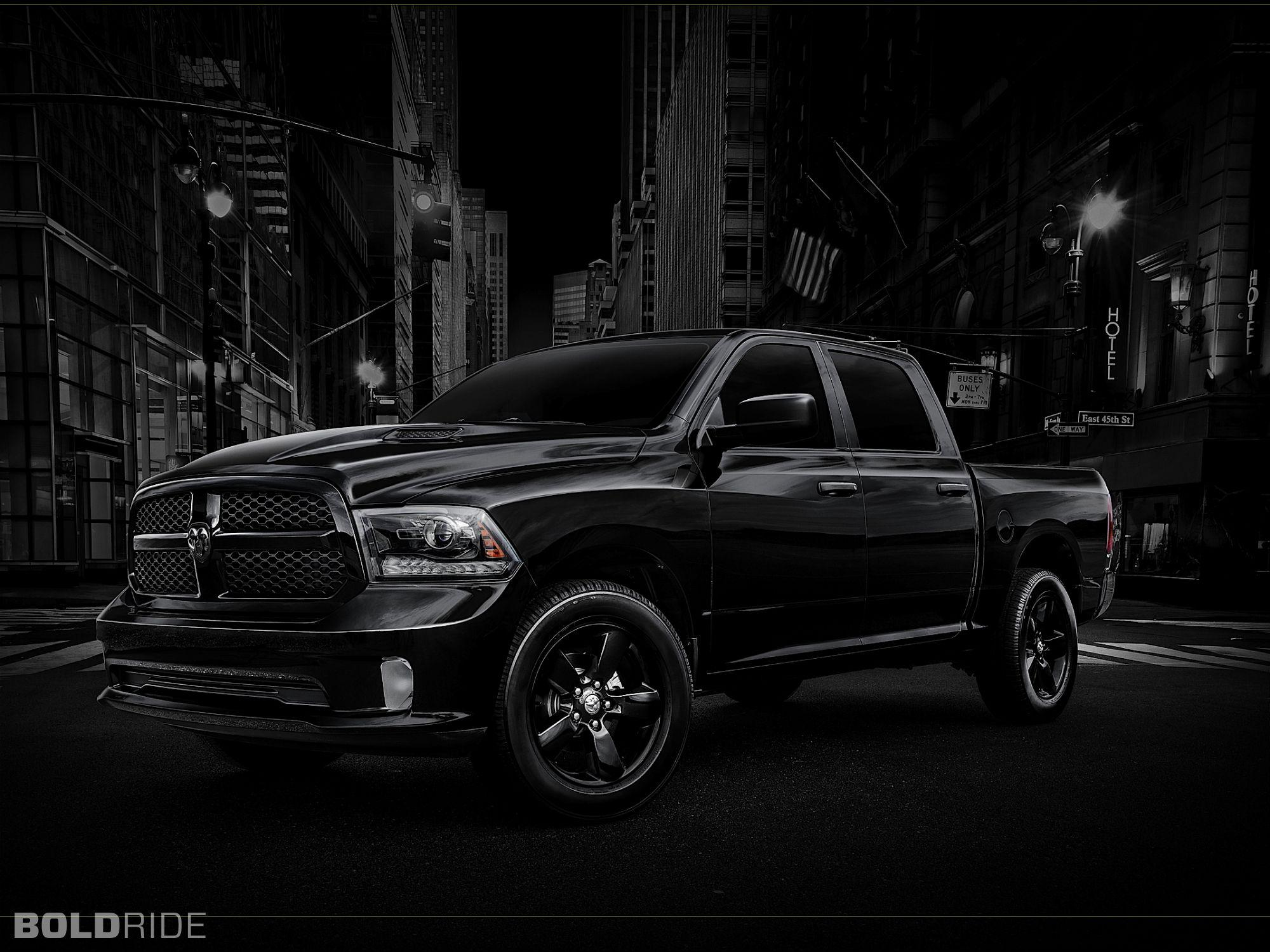 Black Dodge Ram 1500 Full HD Wallpaper and Background Image ...