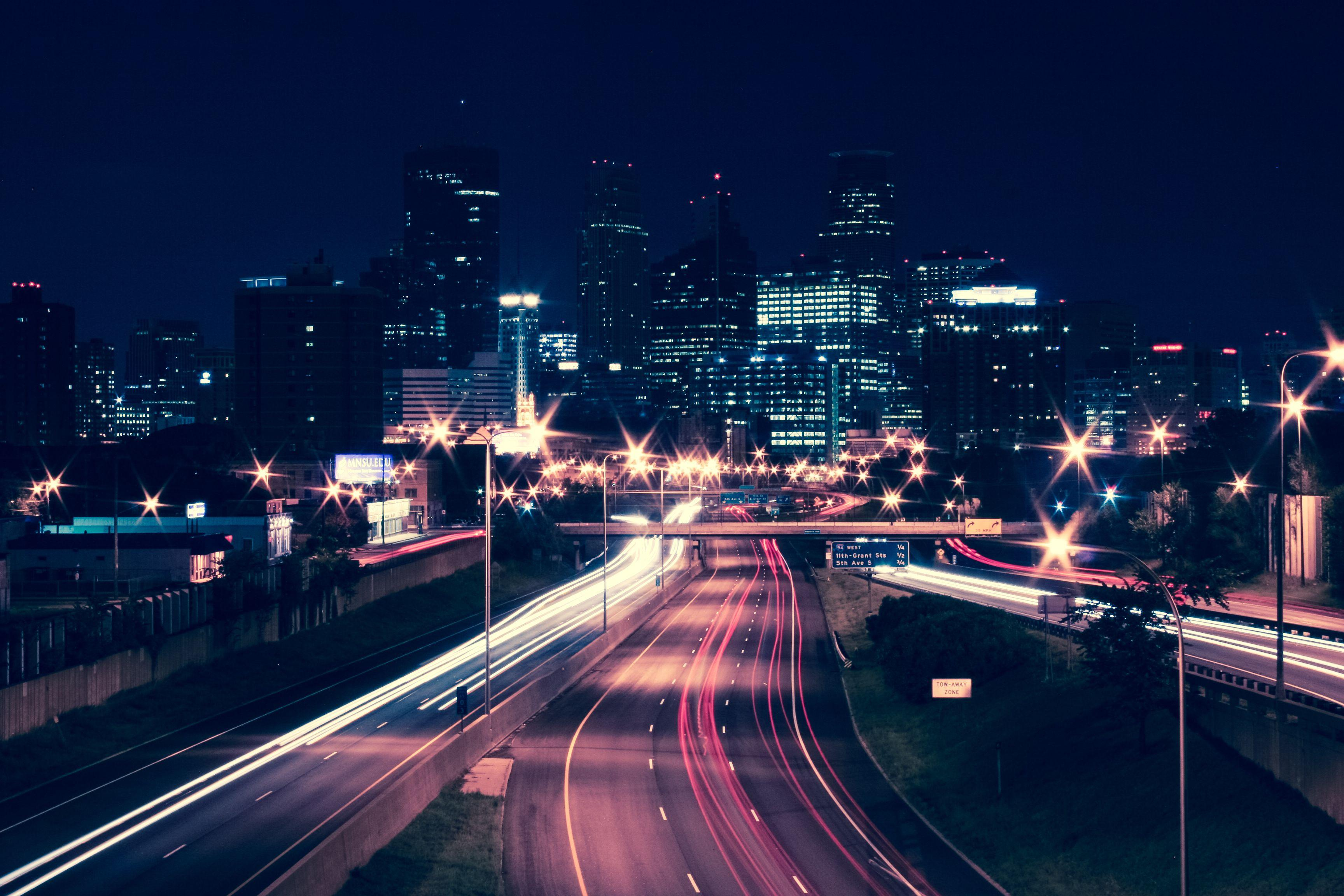 35w North Facing Minneapolis Skyline Reprocess by crapmedia1 on