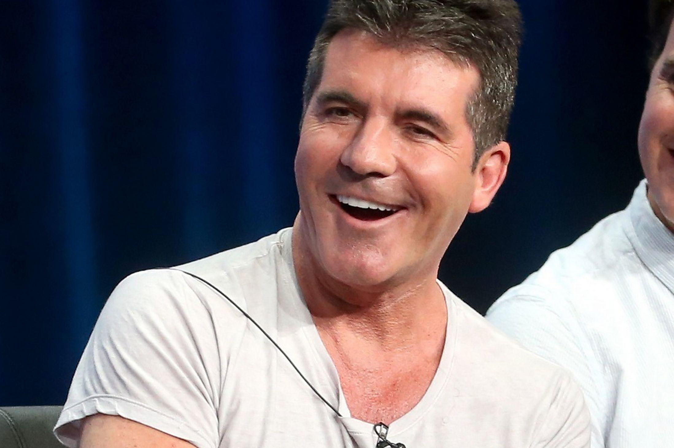 I don't mean to be rude but... The Simon Cowell is the TV and