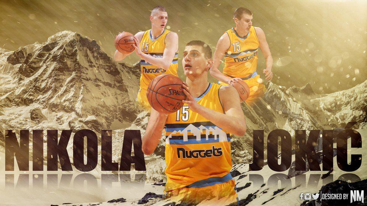 Nikola Jokic Wallpaper by designNM on DeviantArt