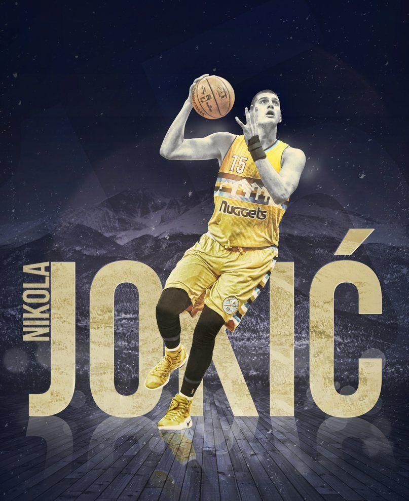Nikola Jokic by Silja1993 on DeviantArt