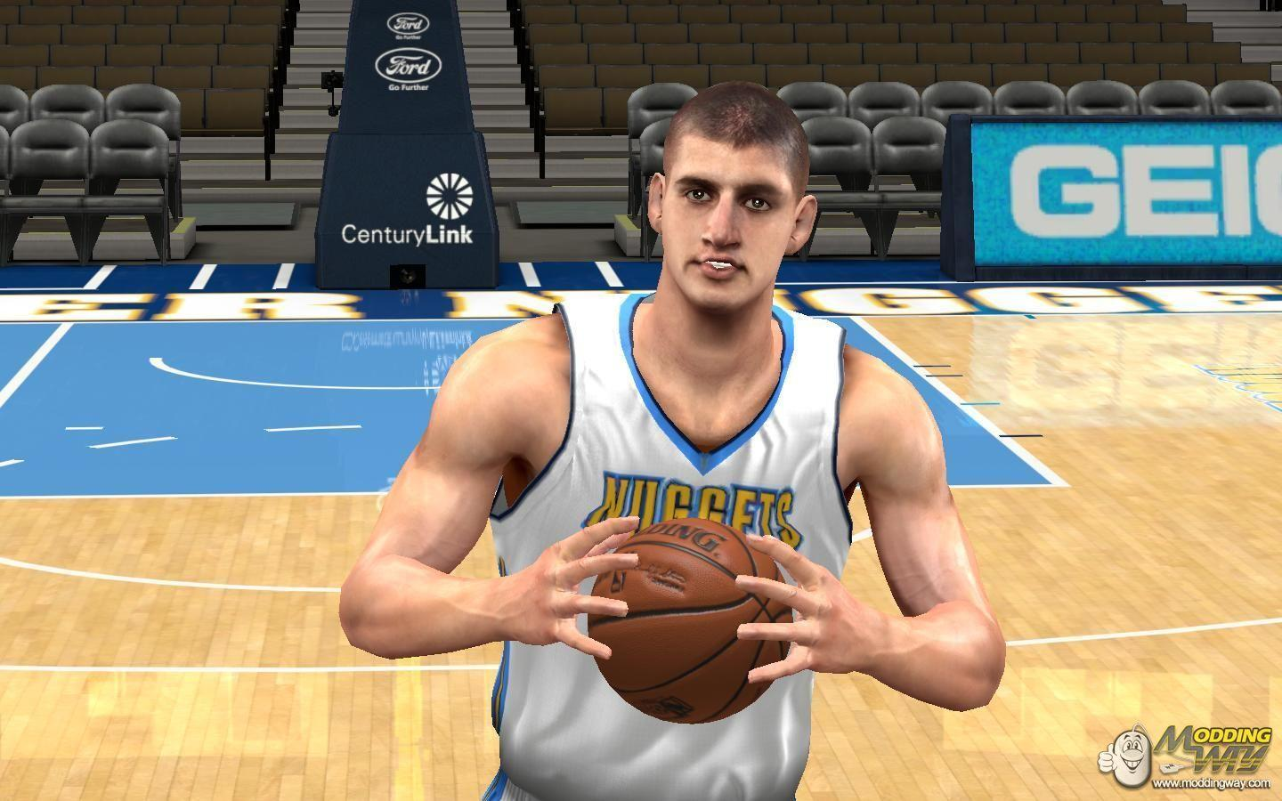Nikola jokic real cyberface - NBA 2K14