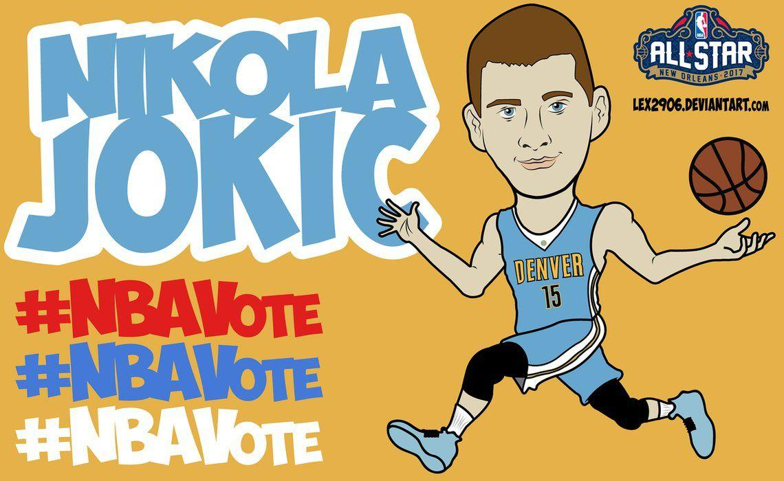 Nikola Jokic #NBAVote by Lex2906 on DeviantArt