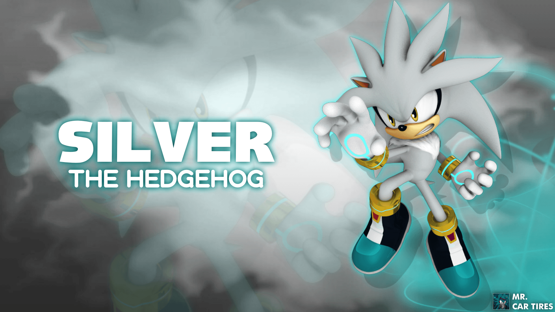 Silver The Hedgehog Wallpaper HD