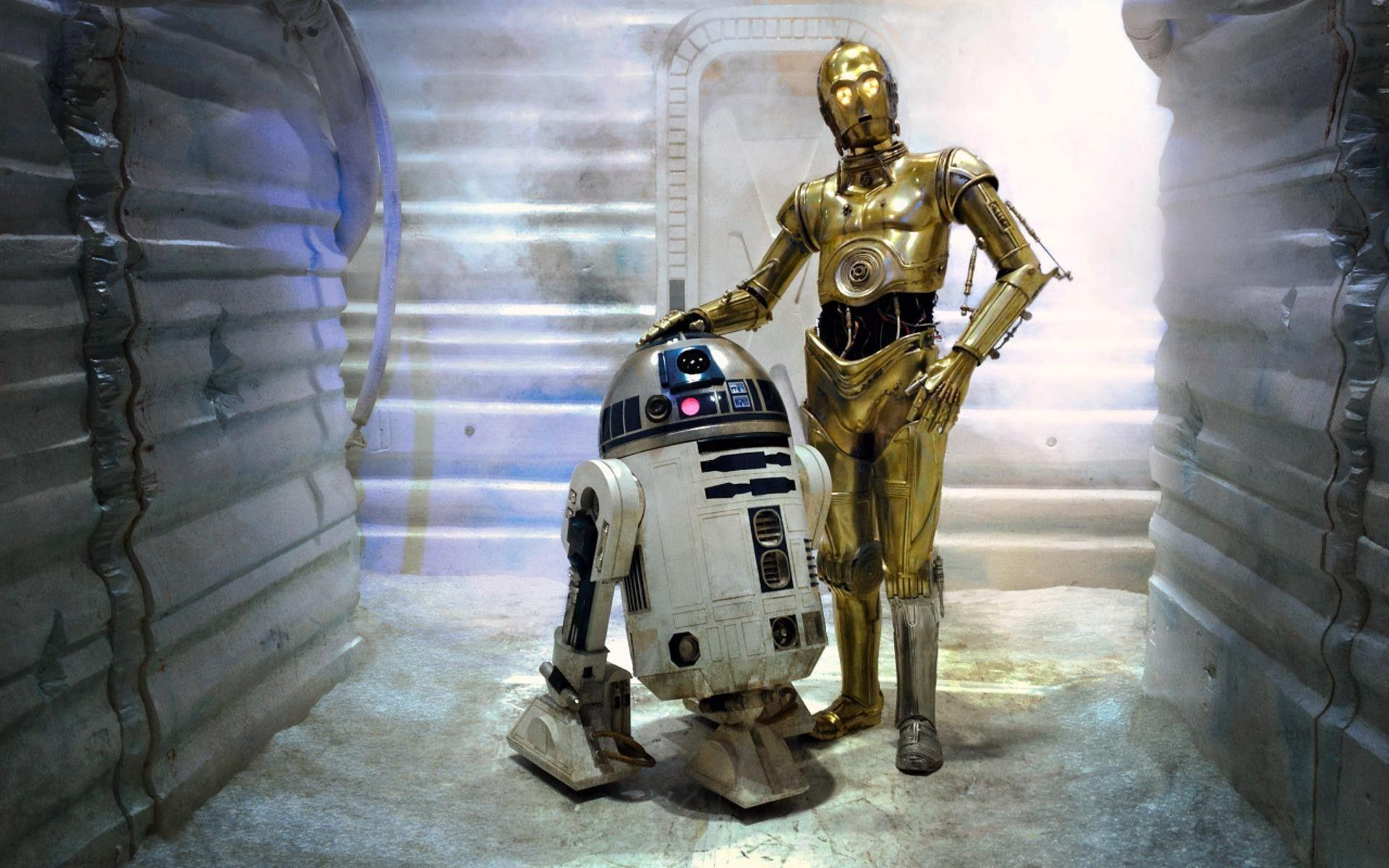 C3Po and R2D2 Wallpaper (73+ images)