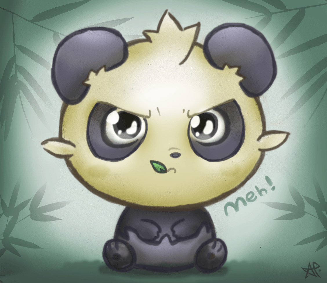 Pokemon pancham wallpaper