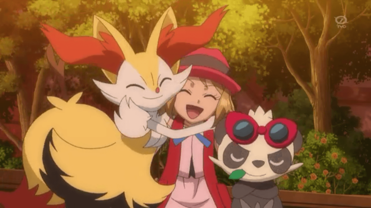 Serena (Pokemon XY) images Serena Braixen and Pancham HD wallpaper ...