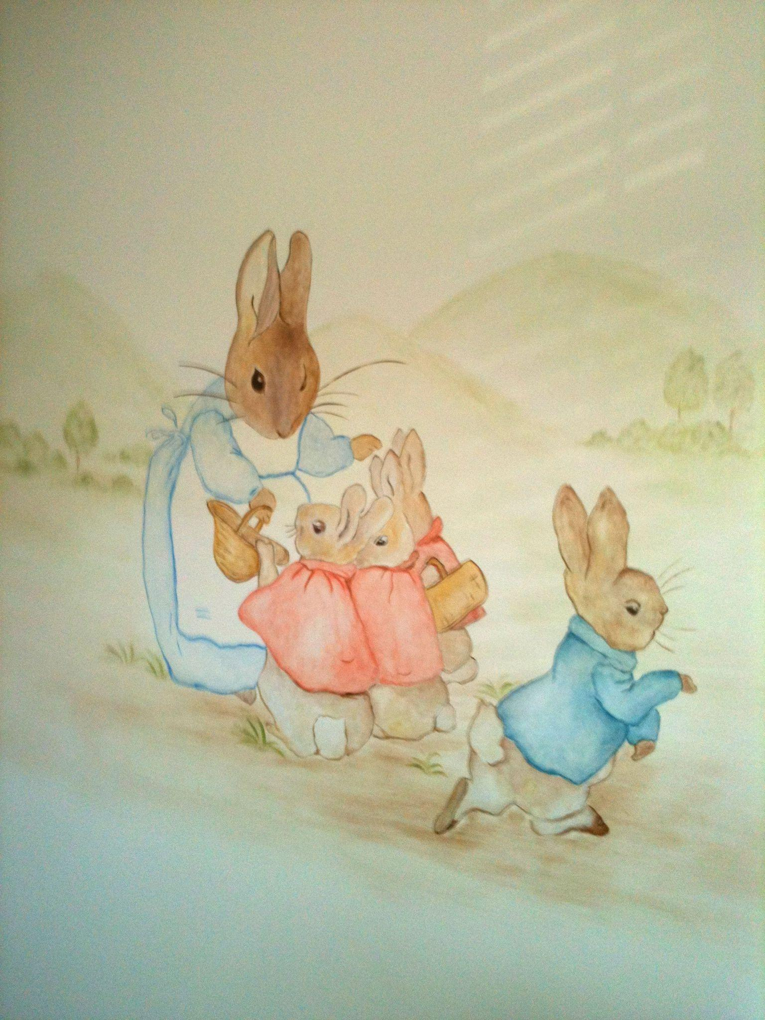 peter rabbits triplet sisters - HD 1536×2048