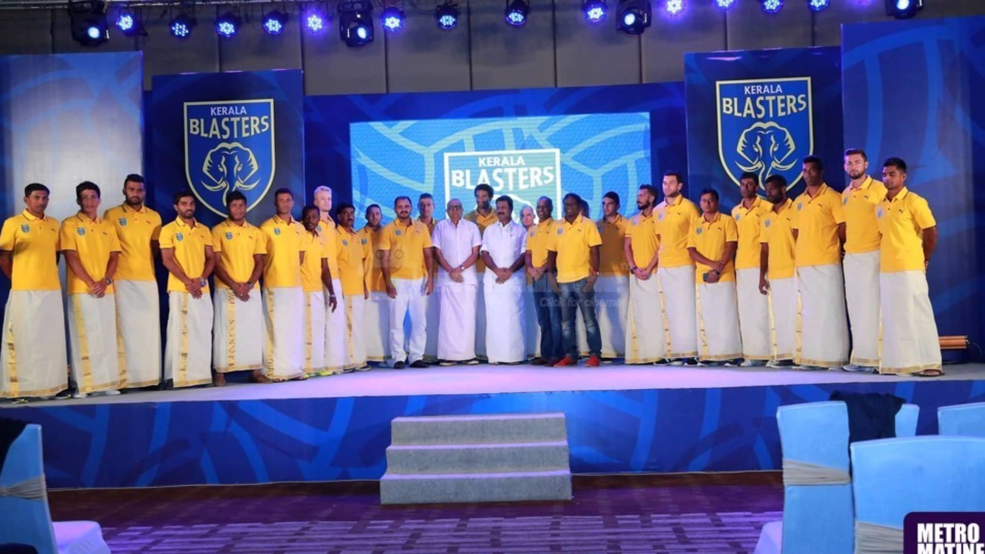 Kerala Blasters Theme Song Official HD - YouTube