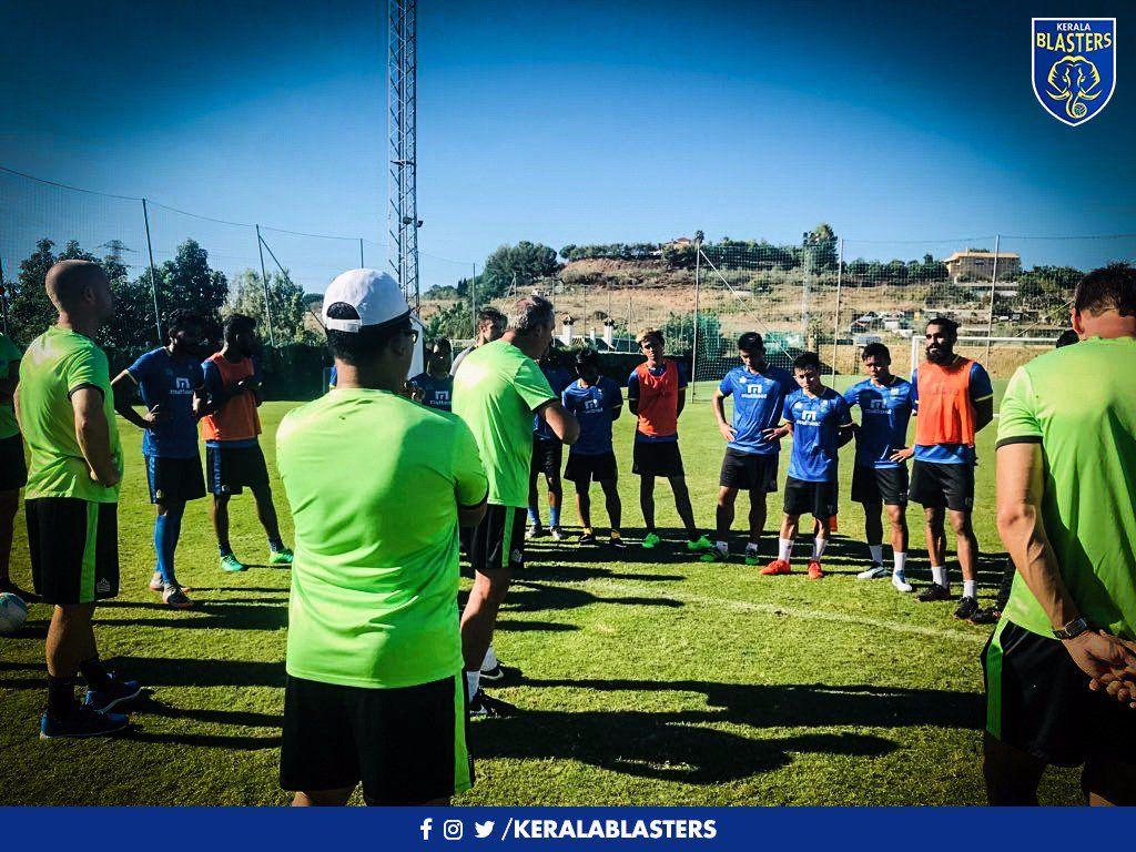 Kerala Blasters FC on Twitter: Back to vigorous training after ...