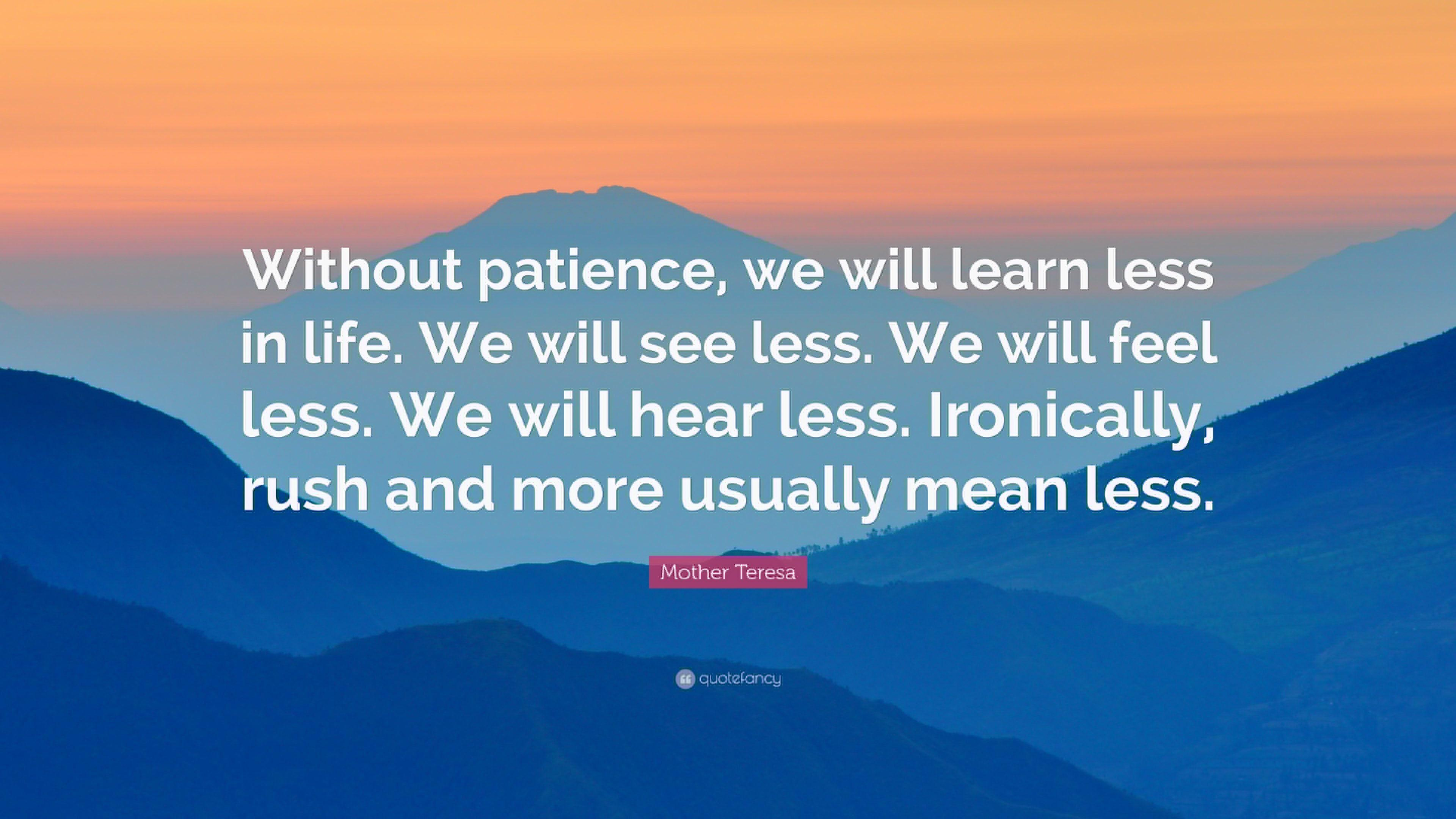 patience quotes for kids - HD3840×2160