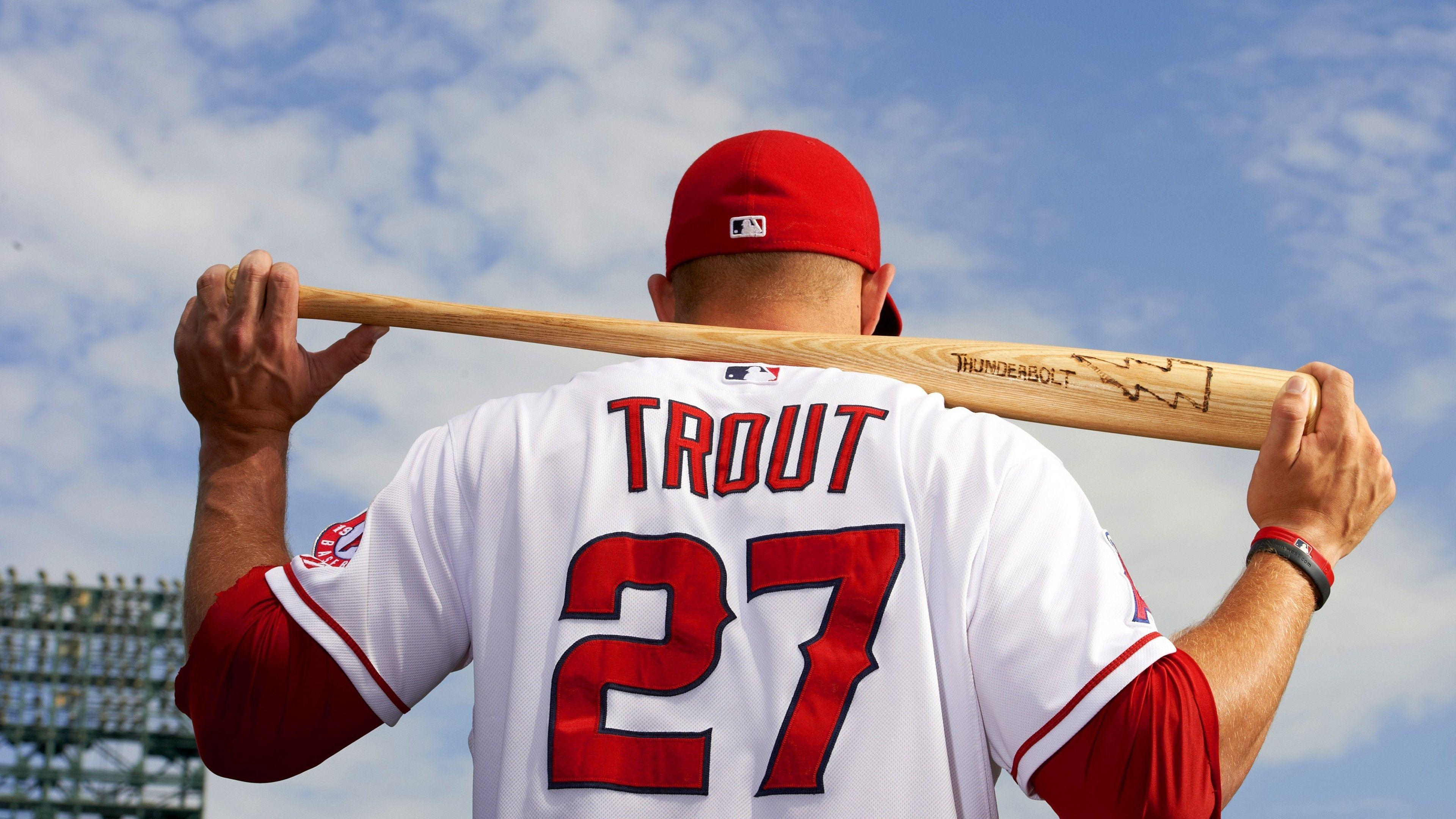 Baseball Top Baseball Players Mike Trout Los Angeles Angels