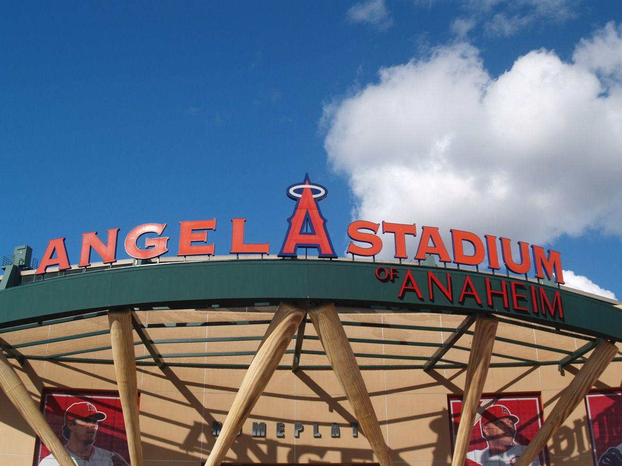 Los Angeles Angels Of Anaheim Logo Baseball HD desktop wallpapers