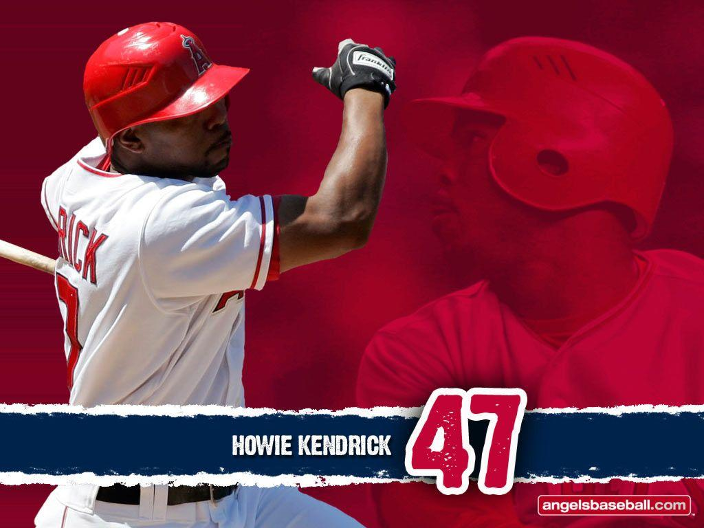 Howie Kendrick Los Angeles Angels Wallpapers