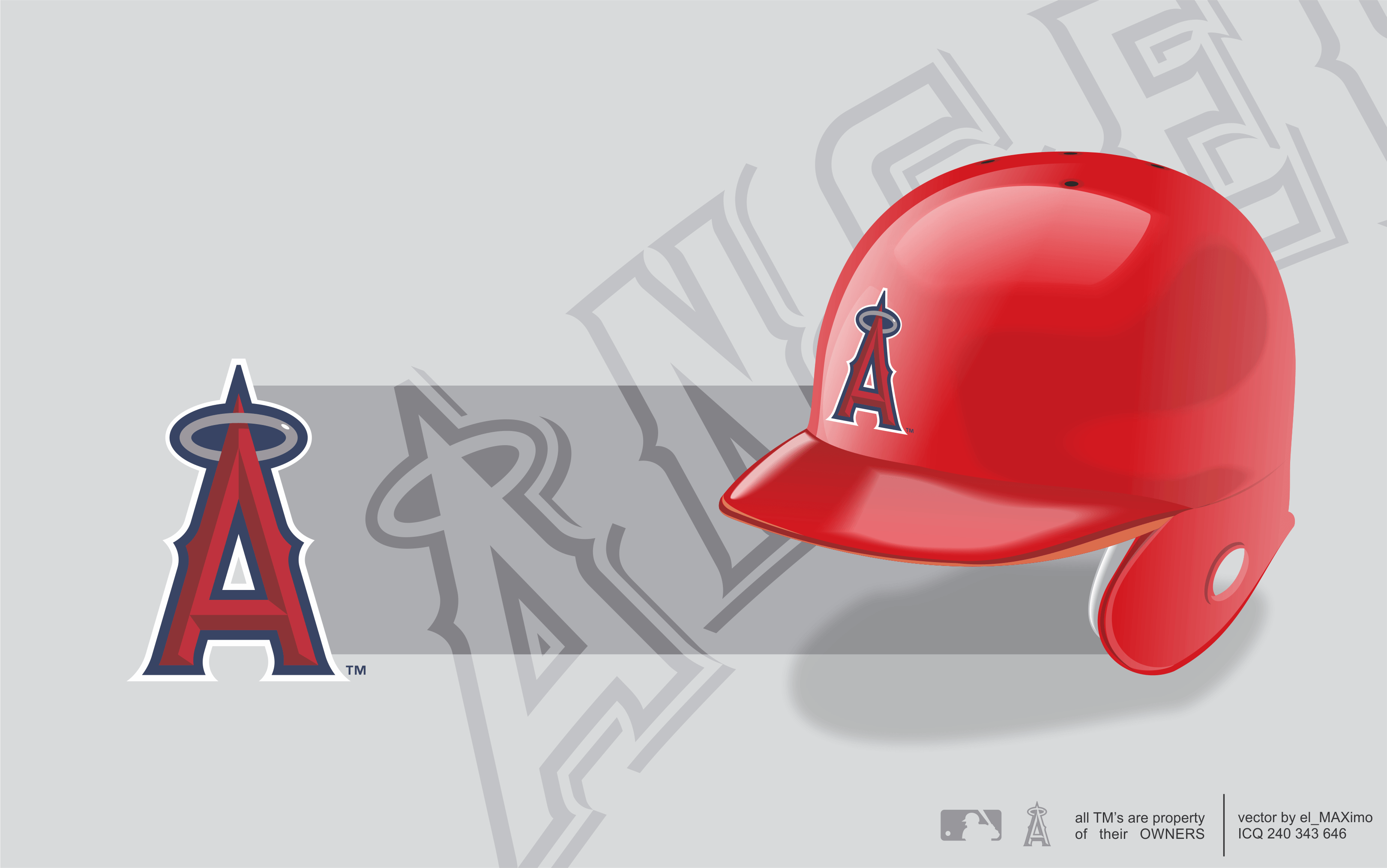 ANAHEIM ANGELS baseball mlb ek wallpapers
