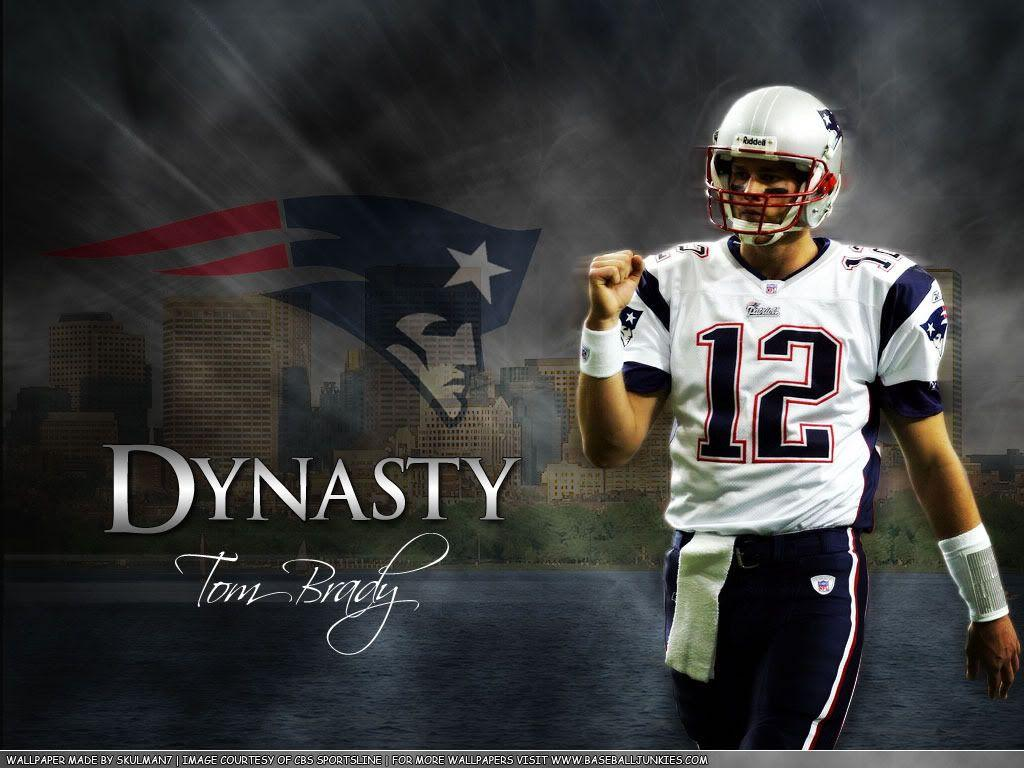 New England Patriots Tom Brady Wallpapers Wallpaper Cave