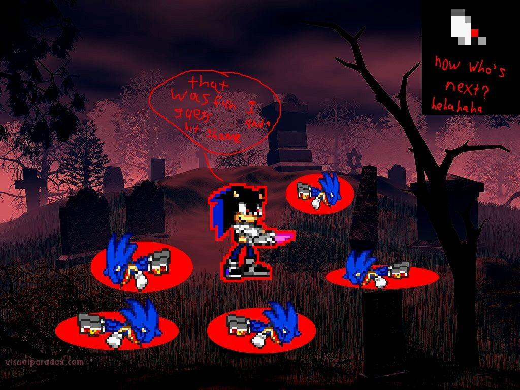 Sonic EXE Wallpapers - Wallpaper Cave