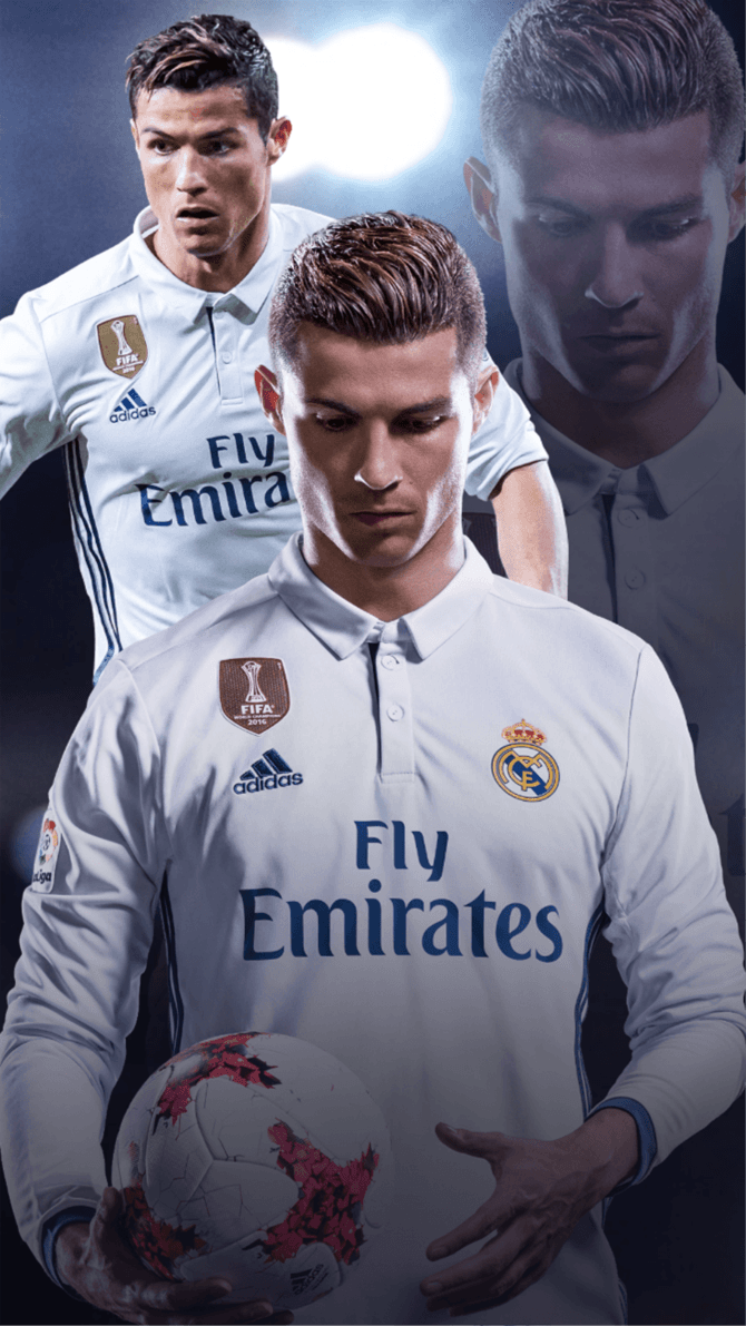 Cristiano Ronaldo FIFA18 Wallpaper Mobile By Hokage455 On DeviantArt
