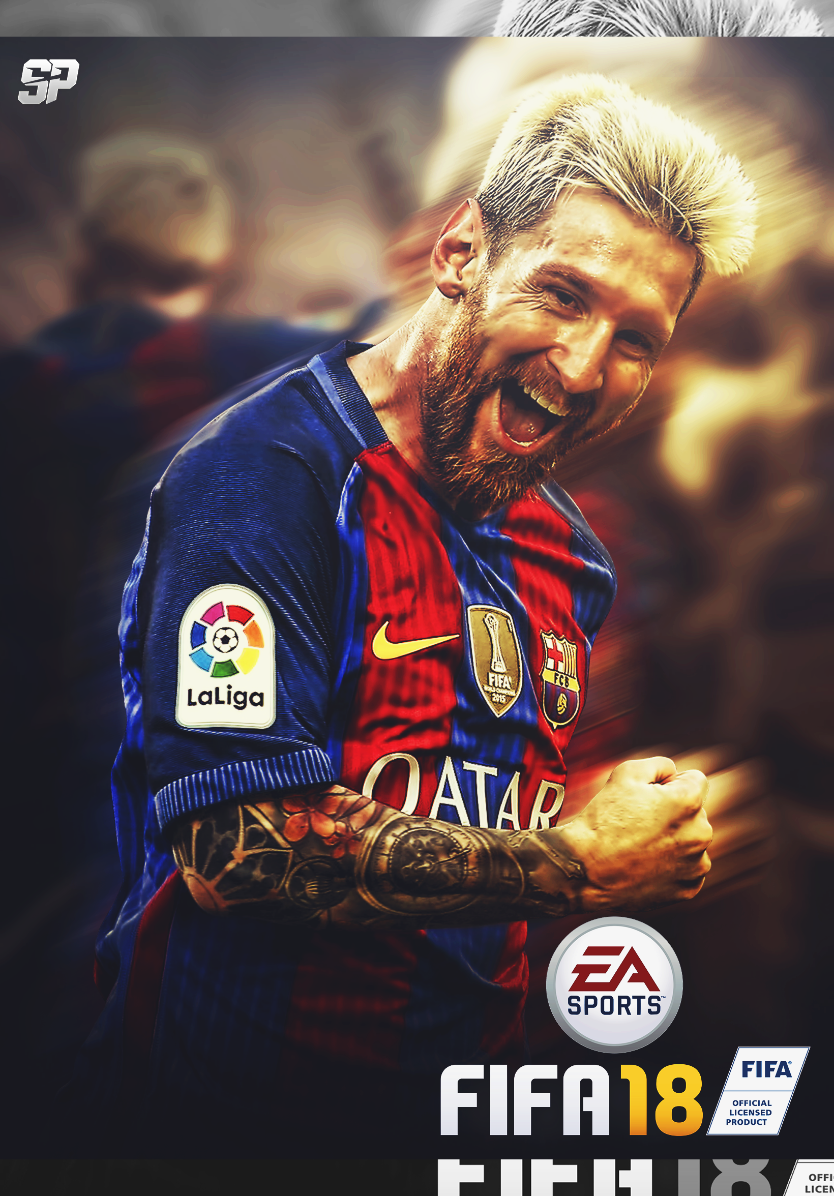 Messi Fifa 18 Wallpaper
