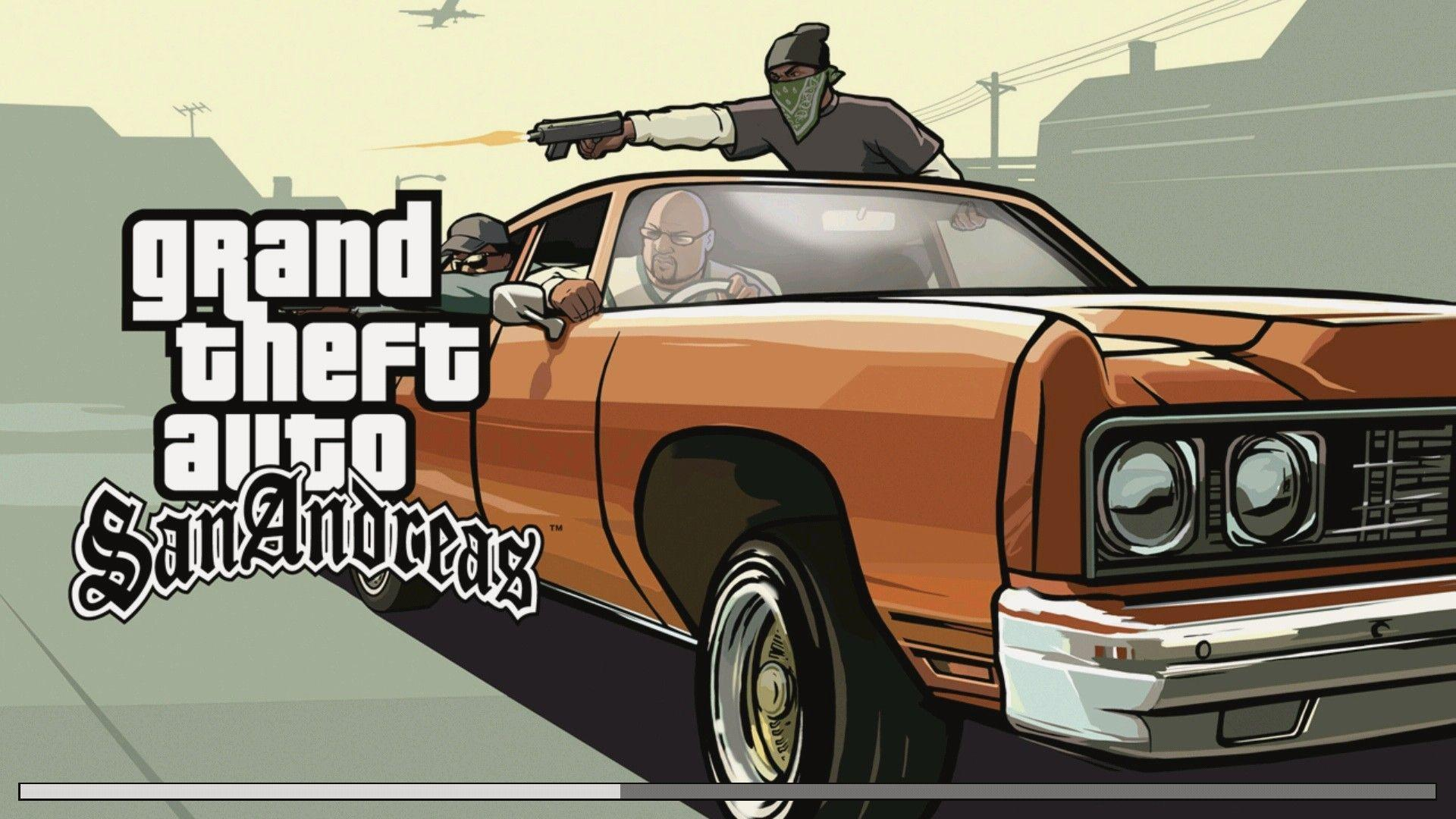 Grand Theft Auto San Andreas Wallpapers HD Download