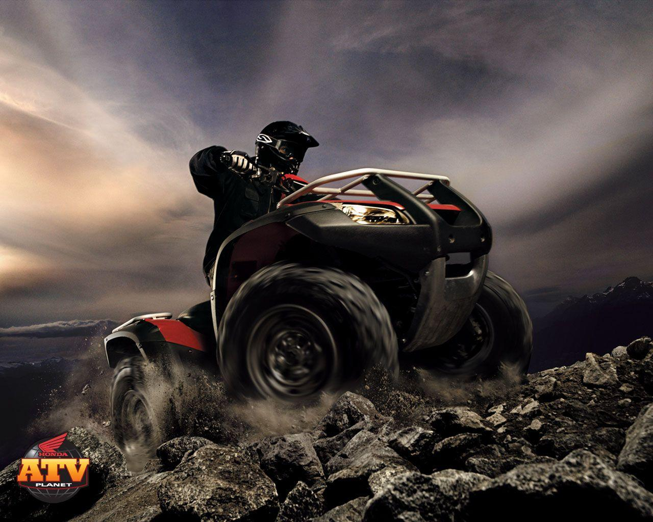 SRY269: Honda ATV Wallpapers, Honda ATV Backgrounds In Best