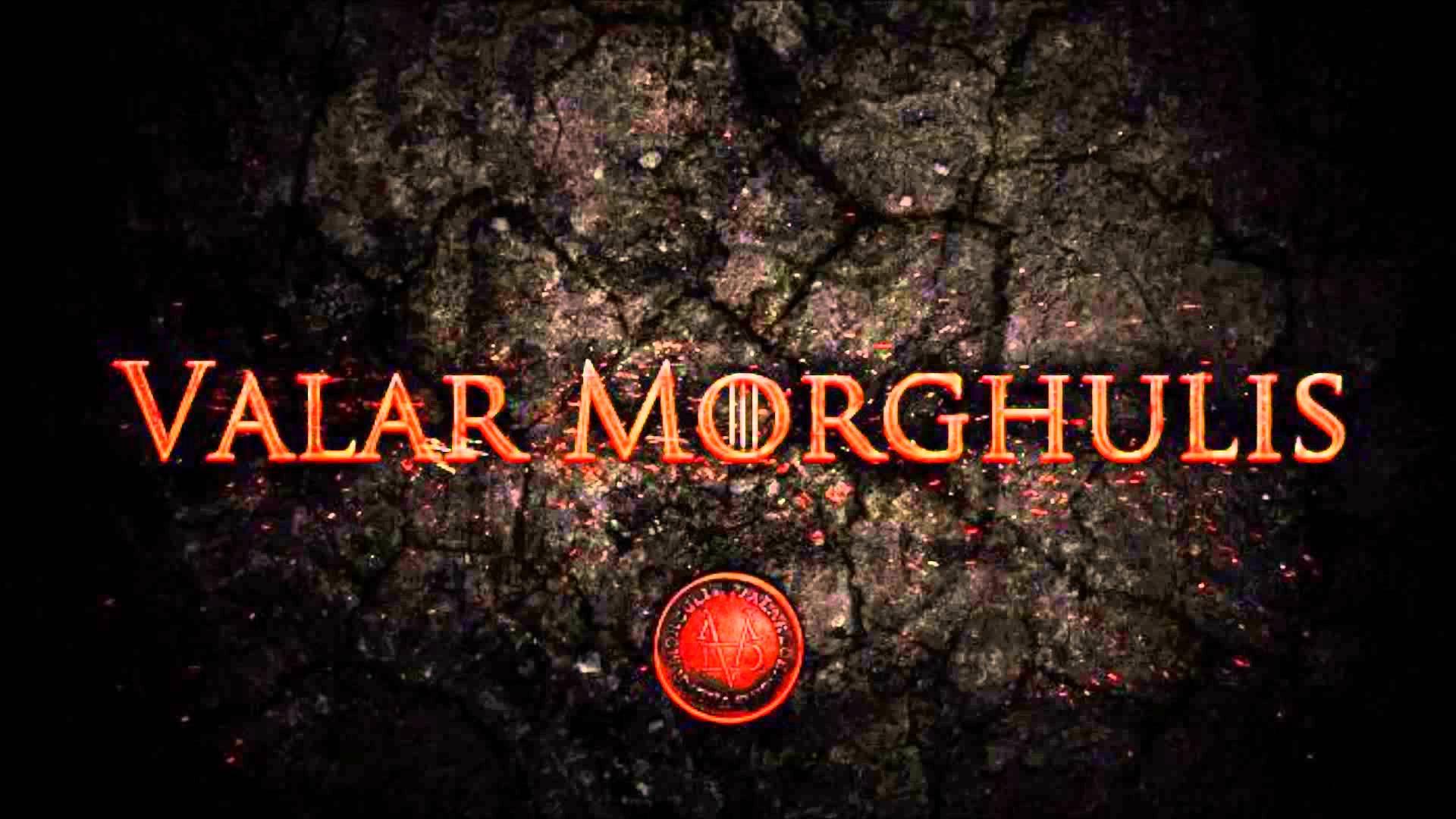 Valar Morghulis Wallpapers - Wallpaper Cave
