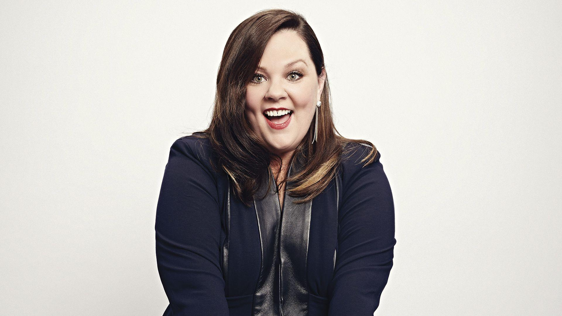 Download Wallpaper 1920x1080 Melissa mccarthy, Actress, Smiling ...