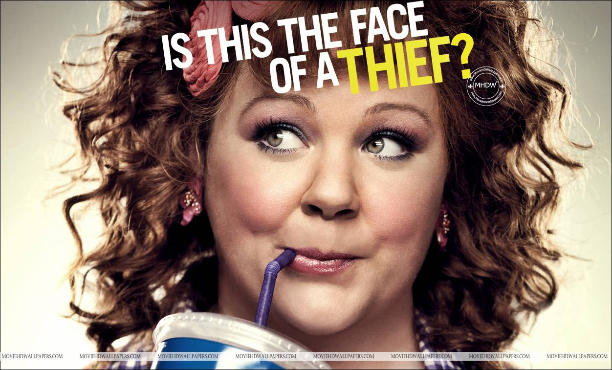 Melissa McCarthy in Identity Thief 2013 - Movie HD Wallpapers