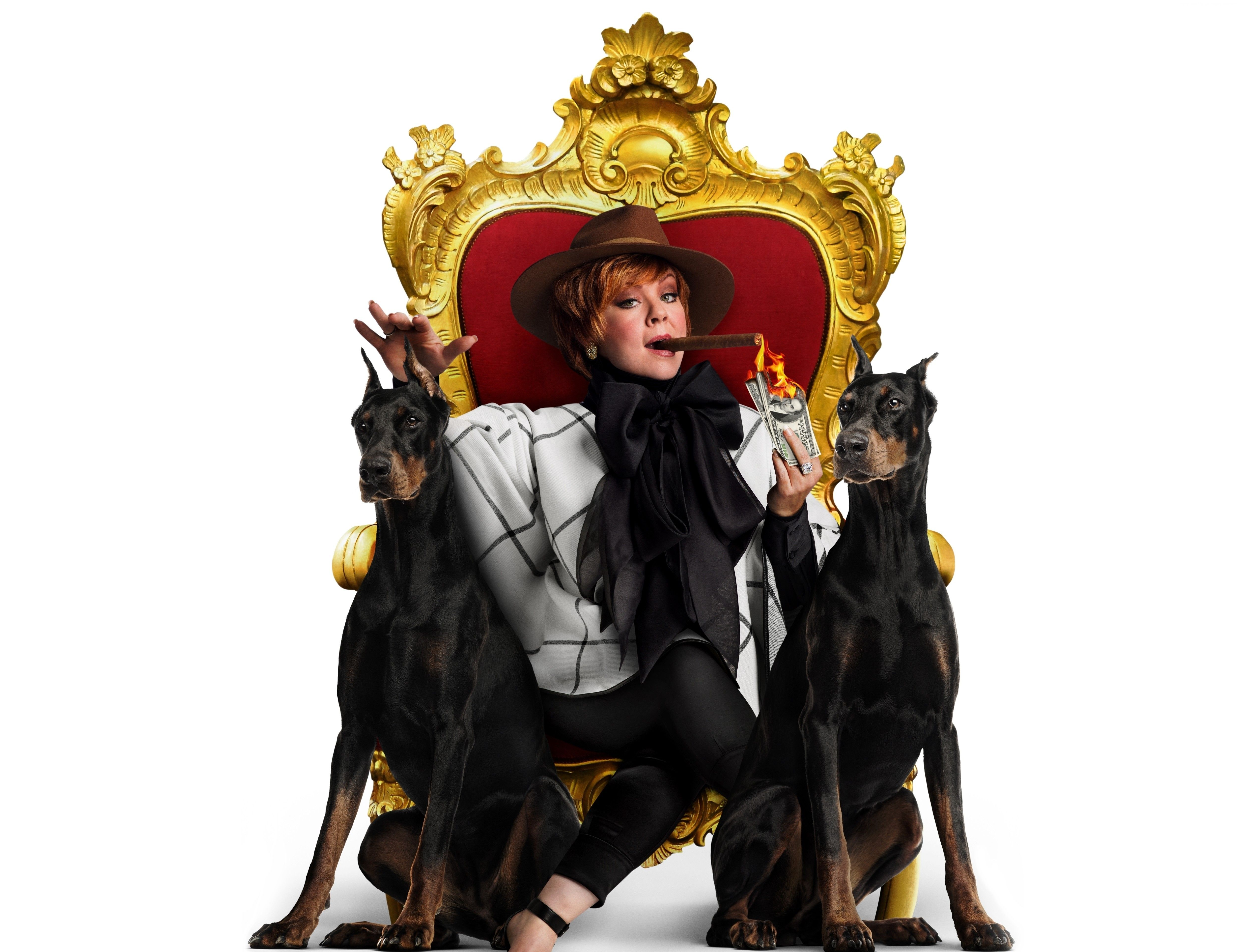 Wallpaper The Boss, Melissa McCarthy, best movies of 2016, Movies ...