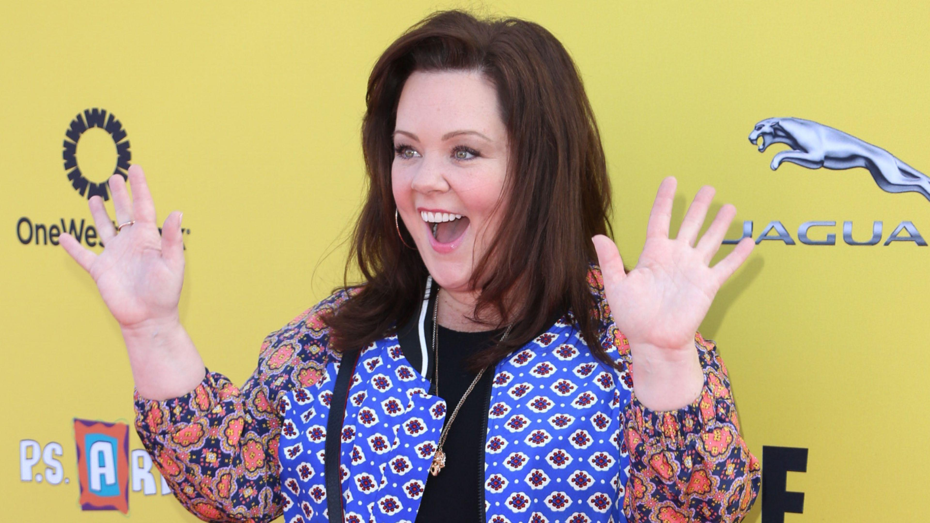 Download Wallpaper 3840x2160 Melissa mccarthy, Actress, Smile 4K ...