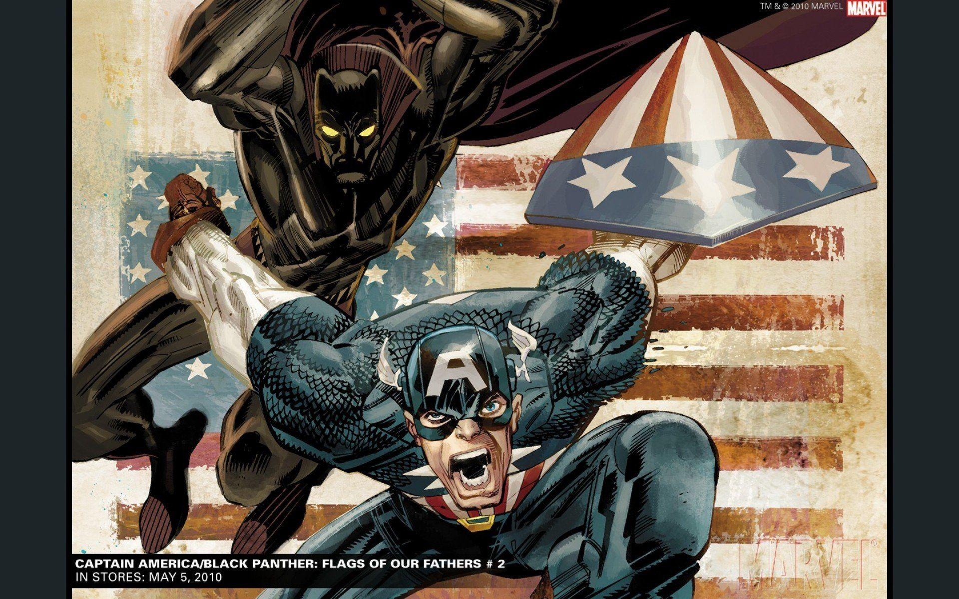 Black Panther Comic Wallpaper: Marvel Comics Black Panther Wallpapers