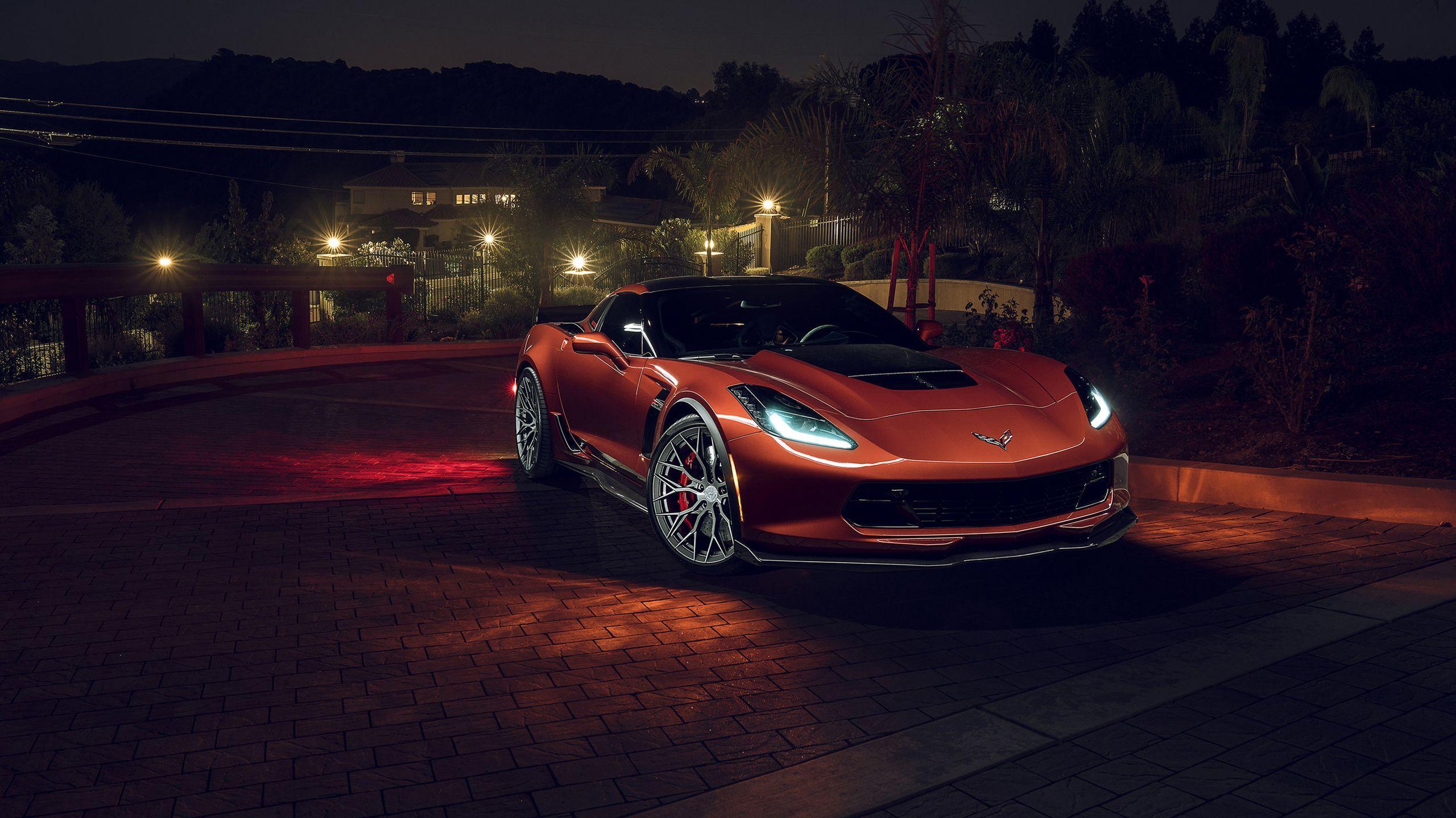 2018 Corvette Z06 Wallpapers Wallpaper Cave