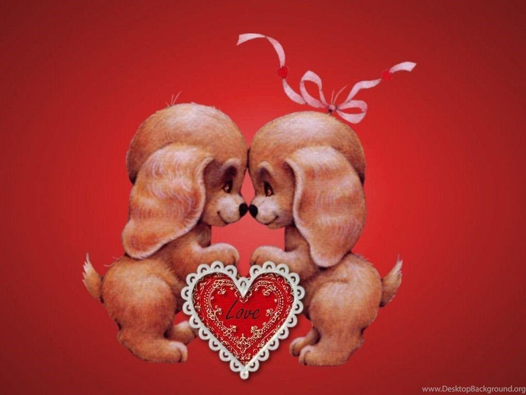 Cute Animal Valentines Day Wallpapers – Valentine Week 2016 ...
