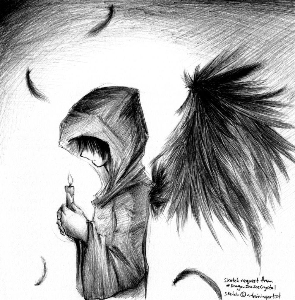 Cool sketch boy wallpaper drawings nocturnal