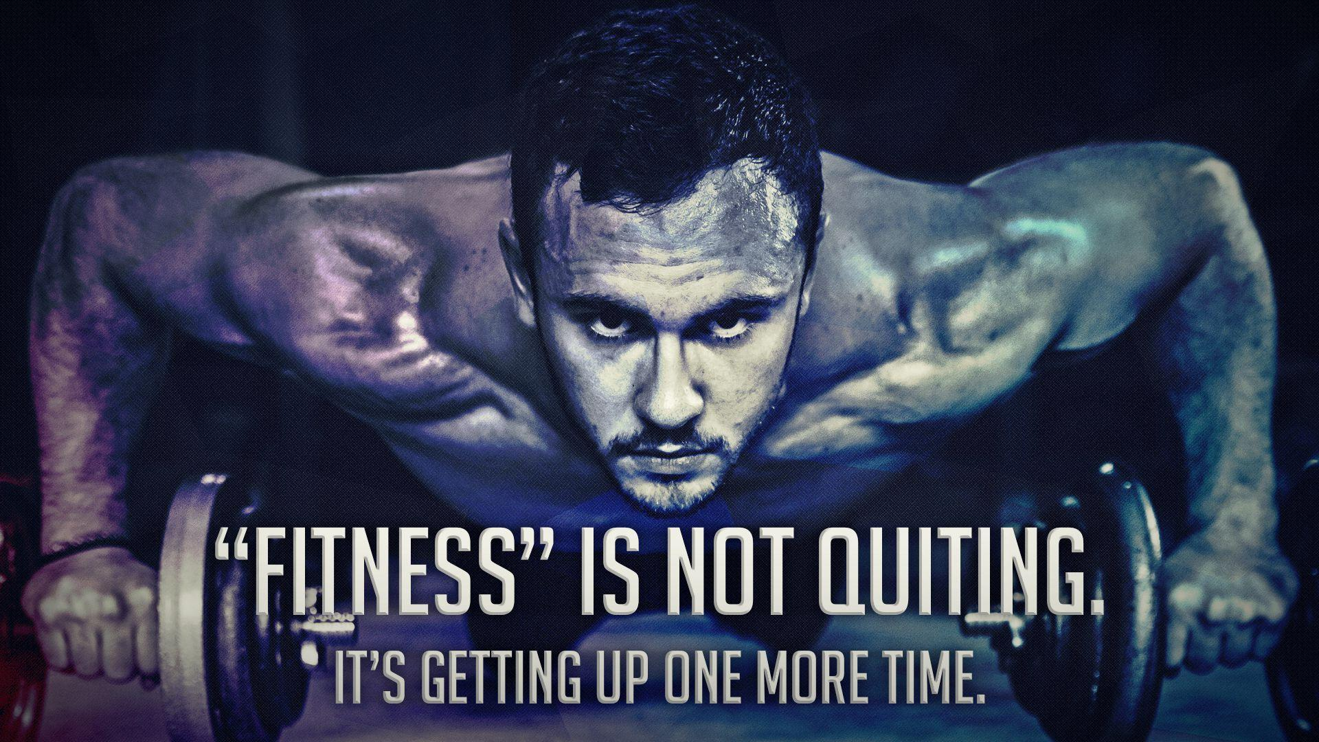 Men Motivational Fitness Background With Quote ~ Inspiring Quotes .