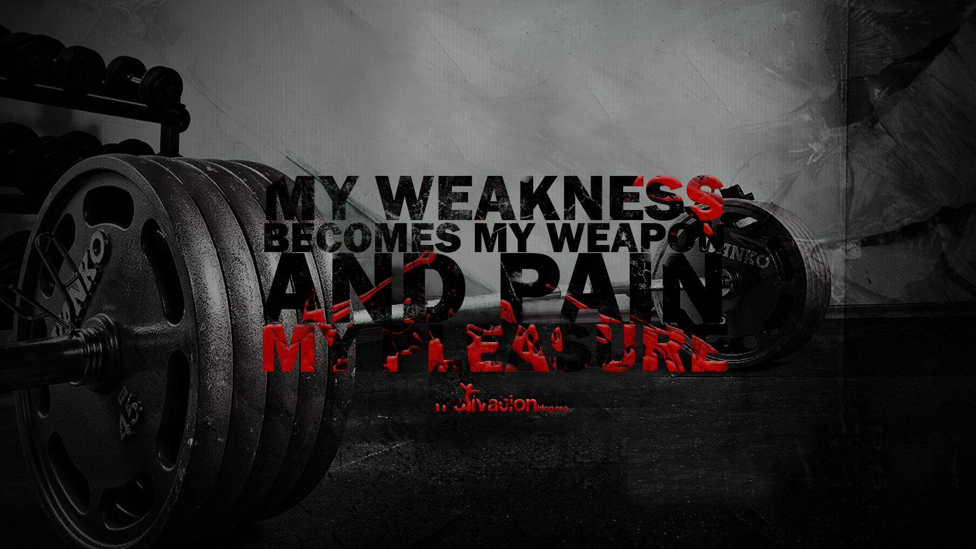 Gym Quotes Wallpapers Wallpaper Cave