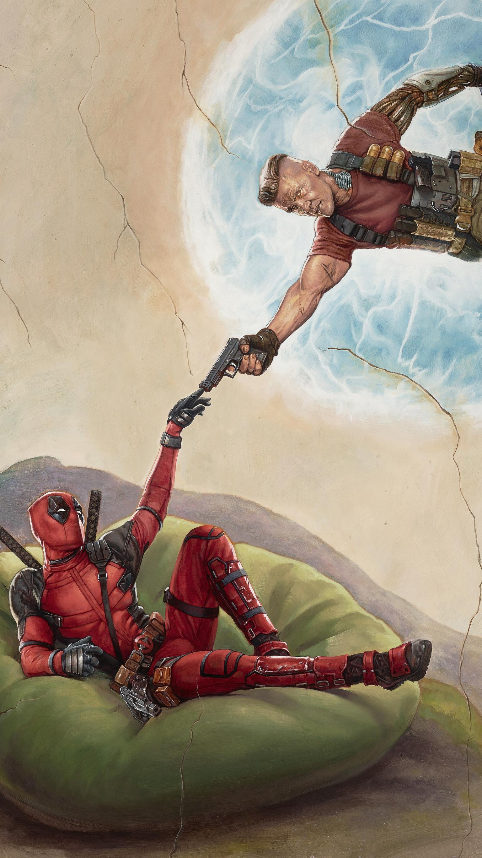 Deadpool 2 Action Wallpapers Wallpaper Cave