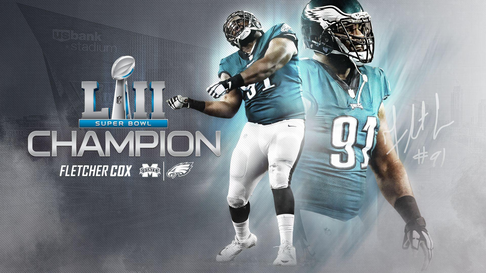 From State to Super Bowl: Fletcher Cox Crowned Super Bowl Champion ...