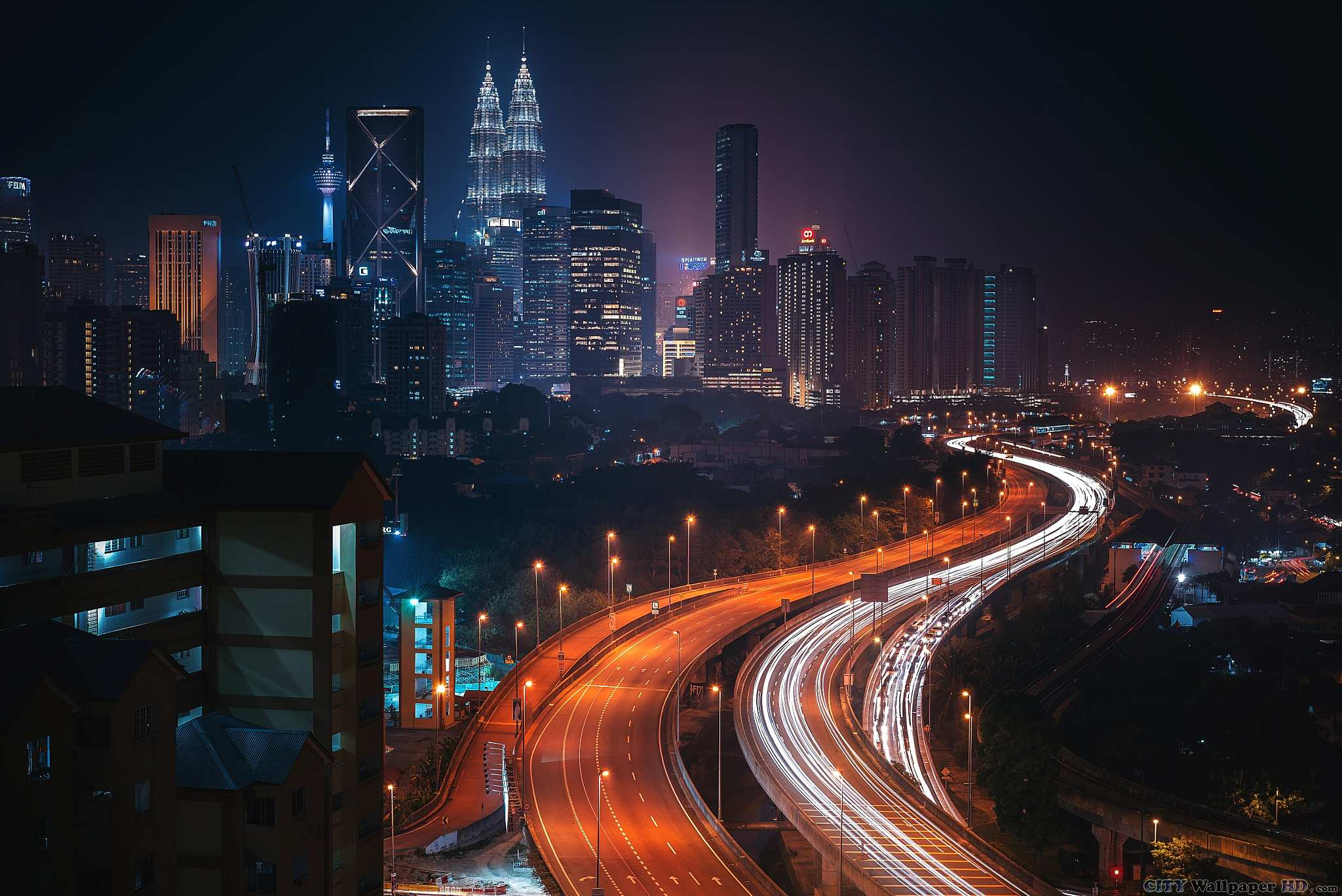 Kuala Lumpur wallpaper. Wallpapers of cities for mobile phones ...