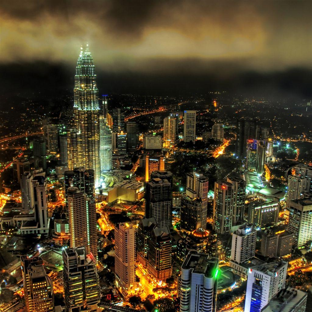 Stuck In Customs Kuala Lumpur Night #retina #iPad #Air #wallpaper ...