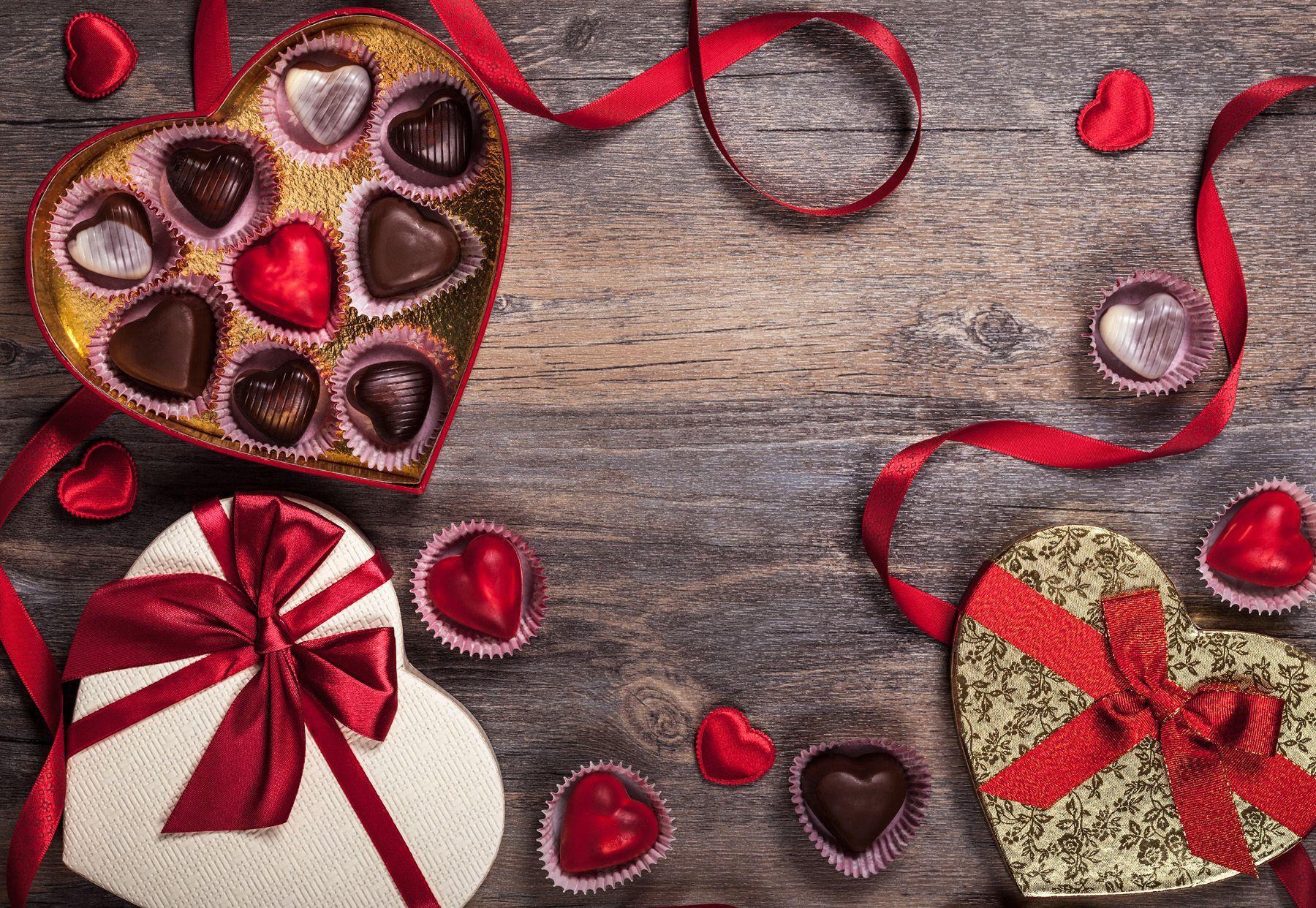 Valentine 39 s day chocolate wallpapers wallpaper cave - San valentin desktop backgrounds ...