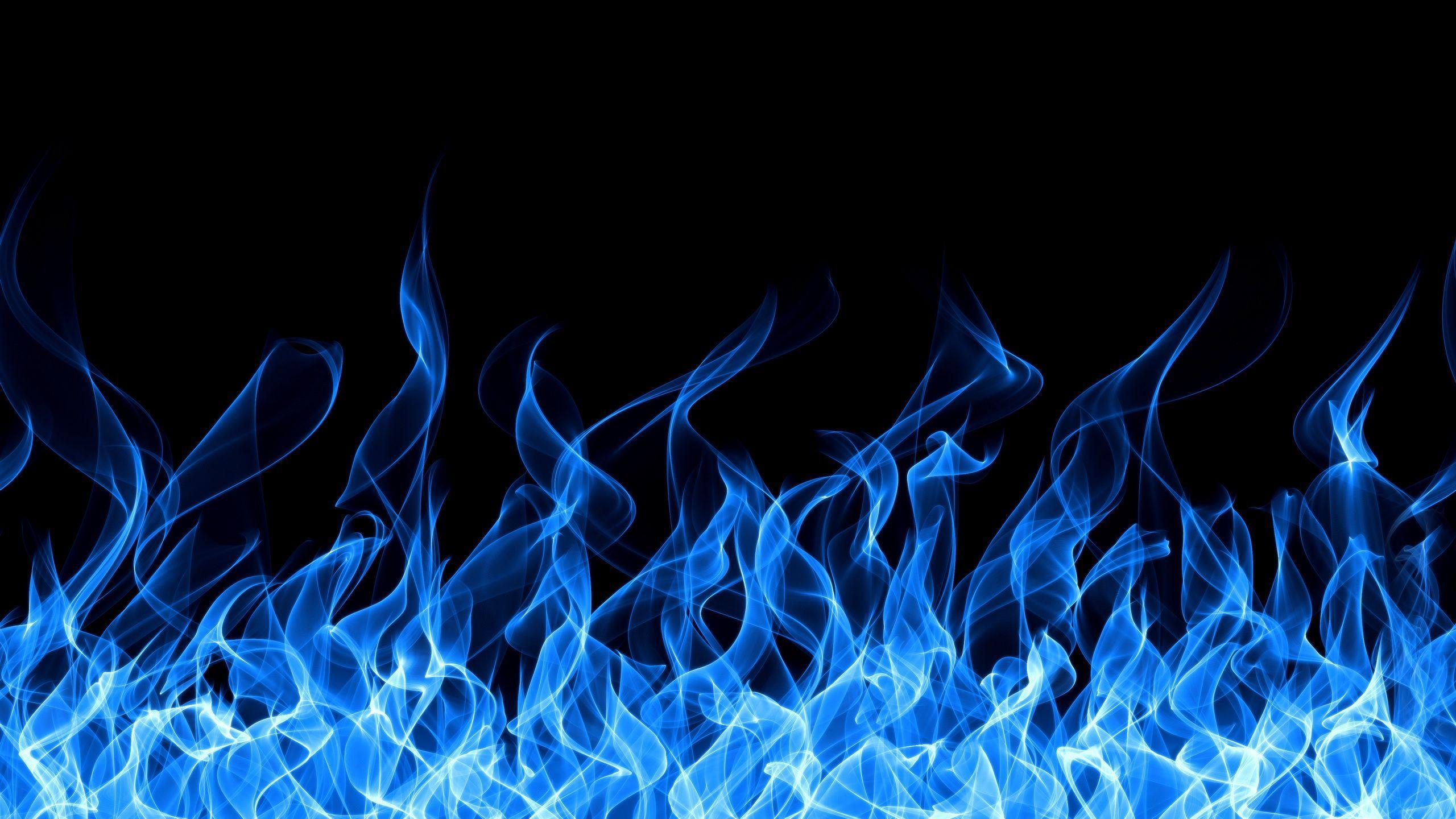 Blue Flames Wallpapers Wallpaper Cave